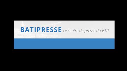 logo du centre de presse batipresse