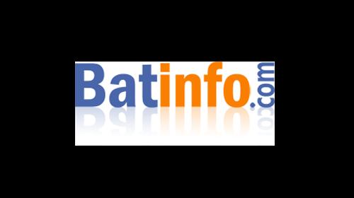 logo du site d'actualité du BTP Batinfo