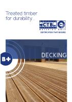 Practical sheets – Decking