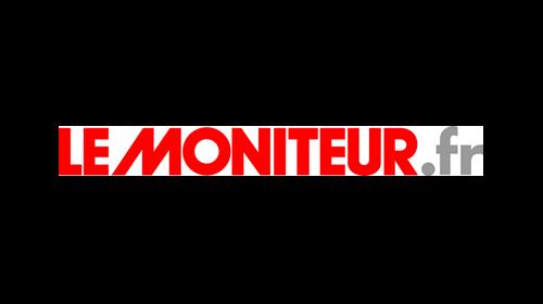 logo du magazine le moniteur