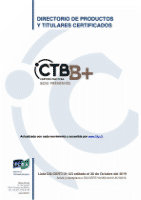 Lista de empresas de tratamiento titulares del derecho a uso de la Marca CTB-B+