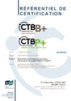 SPECIFICATIONS TECHNIQUES COMMUNES CTB-B+ & CTB-P+